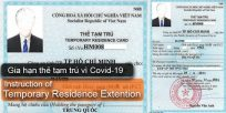 Vietnam Immigration Department instruct Temporary Residence Extension in Vietnam due to Covid-19