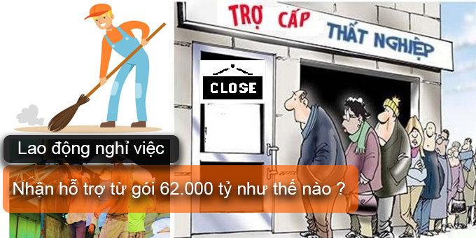(Tiếng Việt) Lao động nghỉ việc nhận hỗ trợ từ gói 62000 tỷ như thế nào?