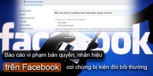 Báo cáo vi phạm bản quyền, nhãn hiệu trên Facebook coi chừng bị kiện đòi bồi thường