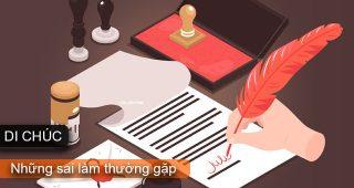 (Tiếng Việt) Di chúc – Những sai lầm thường gặp
