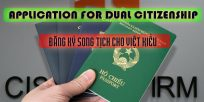 Application for dual Citizenship for Overseas Vietnamese