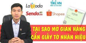(Tiếng Việt) Mở gian hàng Shopee, Lazada, Tiki cần giấy đăng ký nhãn hiệu?