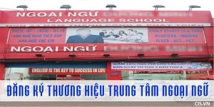 Đăng ký bảo hộ thương hiệu trung tâm ngoại ngữ