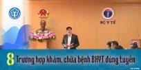 (Tiếng Việt) 08 trường hợp khám, chữa bệnh BHYT đúng tuyến