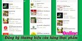(Tiếng Việt) Đăng ký thương hiệu cửa hàng thực phẩm online