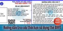 (Tiếng Việt) Hướng dẫn tra cứu thời hạn sử dụng thẻ BHYT mới nhất