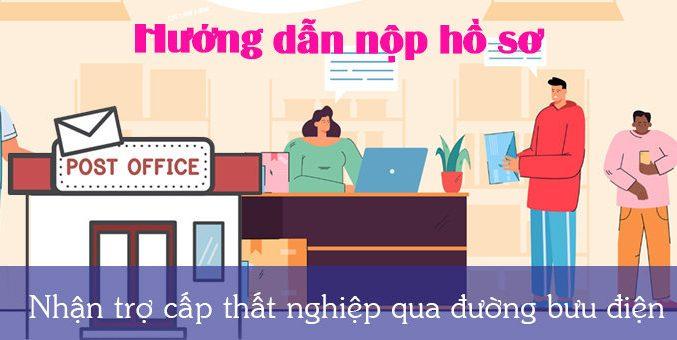 nhan tro cap that nghiep qua buu dien