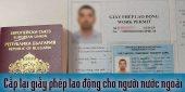 (Tiếng Việt) Cấp lại giấy phép lao động cho người nước ngoài