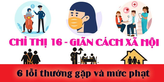 6 loi hay mac phai muc phat chi thi 16