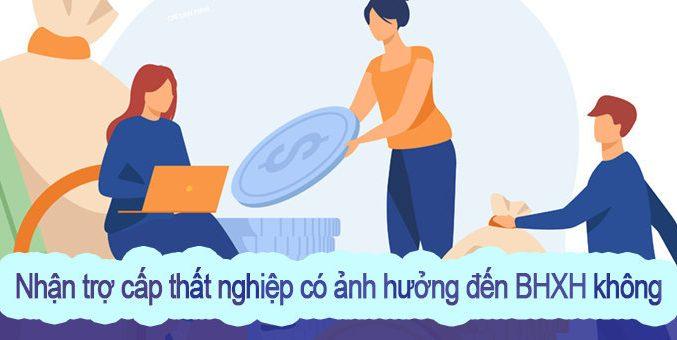 tro cap that nghiep va bhxh