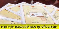 (Tiếng Việt) Thủ tục đăng ký bảo hộ bản quyền game (trò chơi điện tử)
