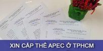 (Tiếng Việt) Hướng dẫn xin cấp thẻ Apec ở TP.HCM