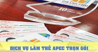 (Tiếng Việt) Dịch vụ làm thẻ Apec trọn gói