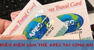 (Tiếng Việt) Điều kiện làm thẻ Apec tại Long An