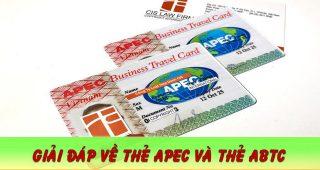(Tiếng Việt) Thẻ Apec là gì? Thẻ Abtc là gì?