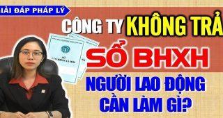 (Tiếng Việt) Nghỉ việc nhưng Công ty không trả sổ bảo hiểm xã hội, người lao động cần làm gì?