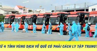 (Tiếng Việt) Từ 6/10: Người dân rời 4 tỉnh vùng dịch VỀ QUÊ – trường hợp nào phải CÁCH LY tập trung?