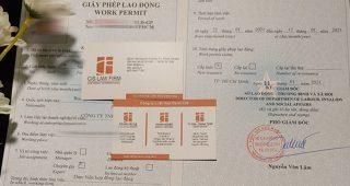 (Tiếng Việt) Quy định về xin Giấy phép lao động năm 2021